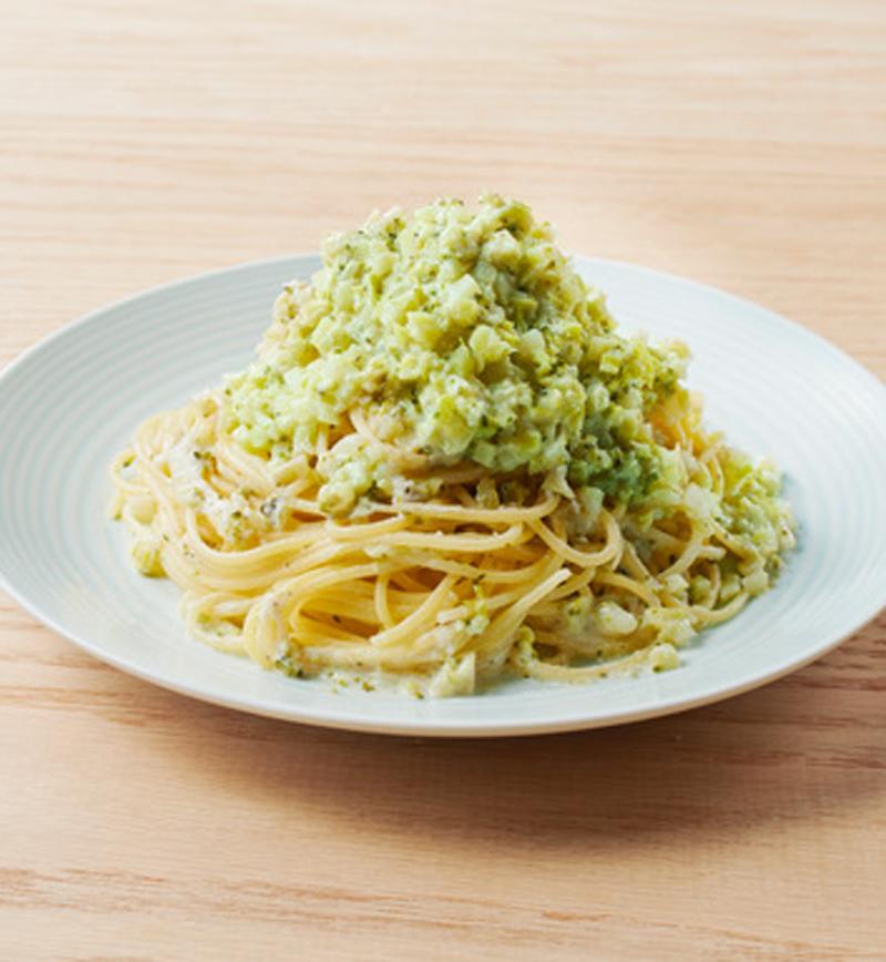 ブロッコリーの豆乳ヨーグルトパスタ レシピ画像