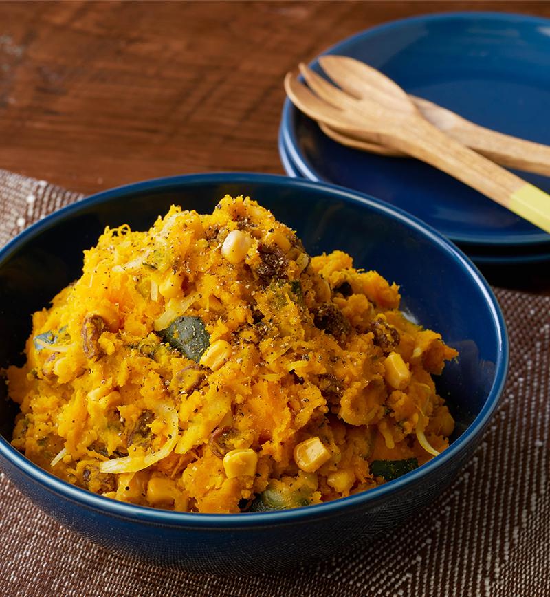 かぼちゃのデリ風サラダ レシピ画像