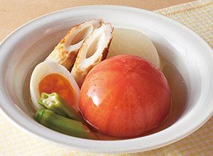 トマトの冷やしおでん レシピ画像