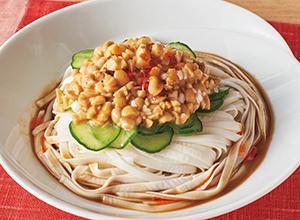 ひきわり納豆の坦々風 レシピ画像