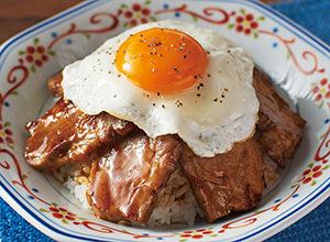 煮豚玉子飯 レシピ画像
