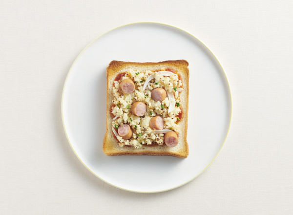 ジャーマンポテトのトースト レシピ画像