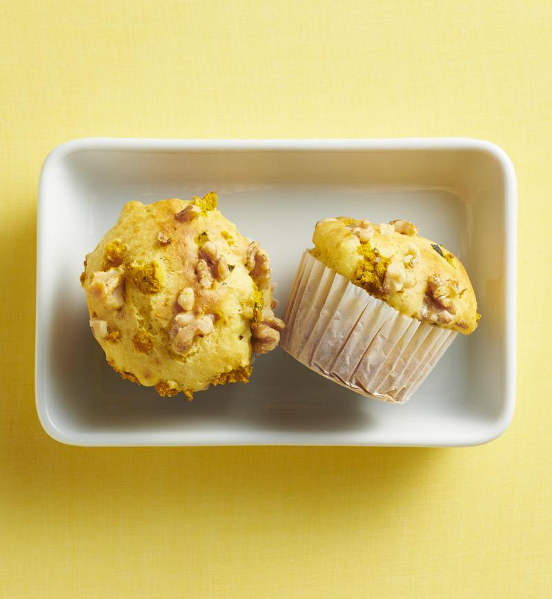 かぼちゃのカップケーキ レシピ画像
