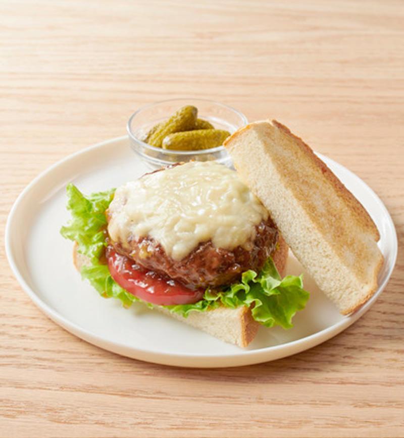 大豆ハンバーグのサンド レシピ画像