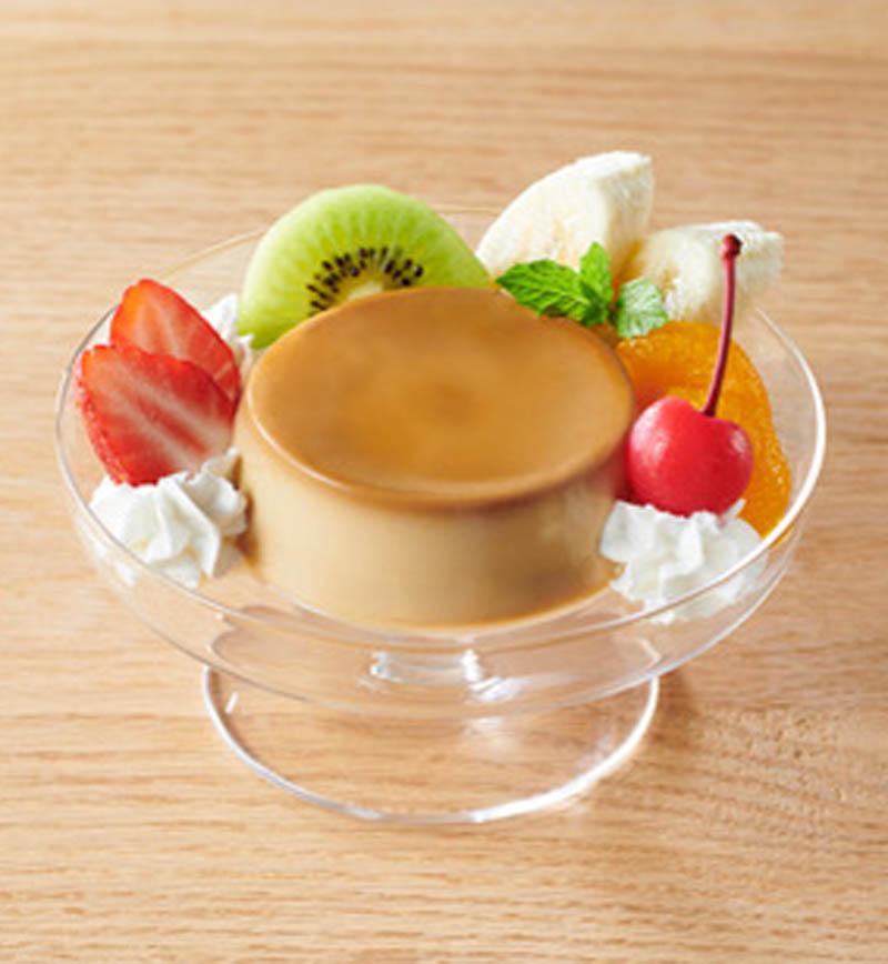 豆乳プリン アラモード レシピ画像