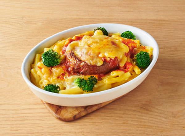 大豆からつくったハンバーググラタン レシピ画像