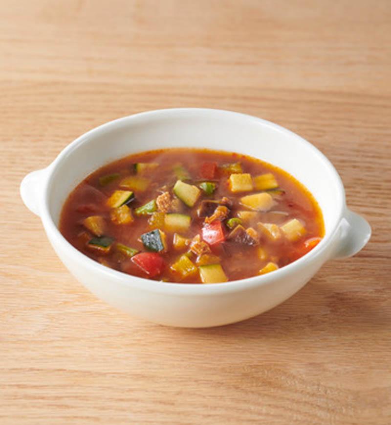 大豆からつくったボロネーゼのミネストローネ風 レシピ画像