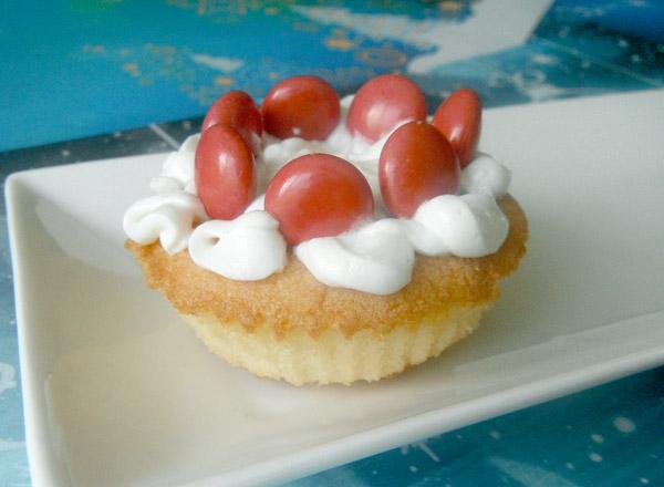 マドレーヌでミニケーキ レシピ画像