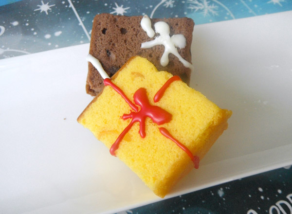 ケーキのプレゼントボックス レシピ画像