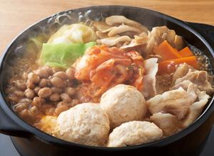 純輝鶏肉だんごの発酵鍋 レシピ画像