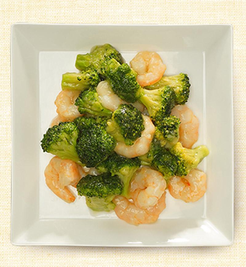 ブロッコリーとエビの塩炒め レシピ画像
