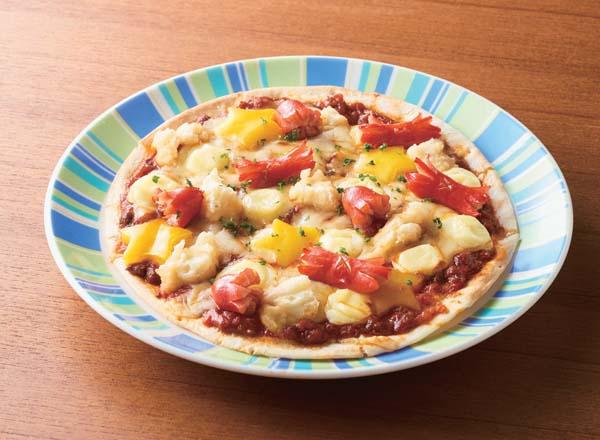 ポテトミートピザ メイン画像