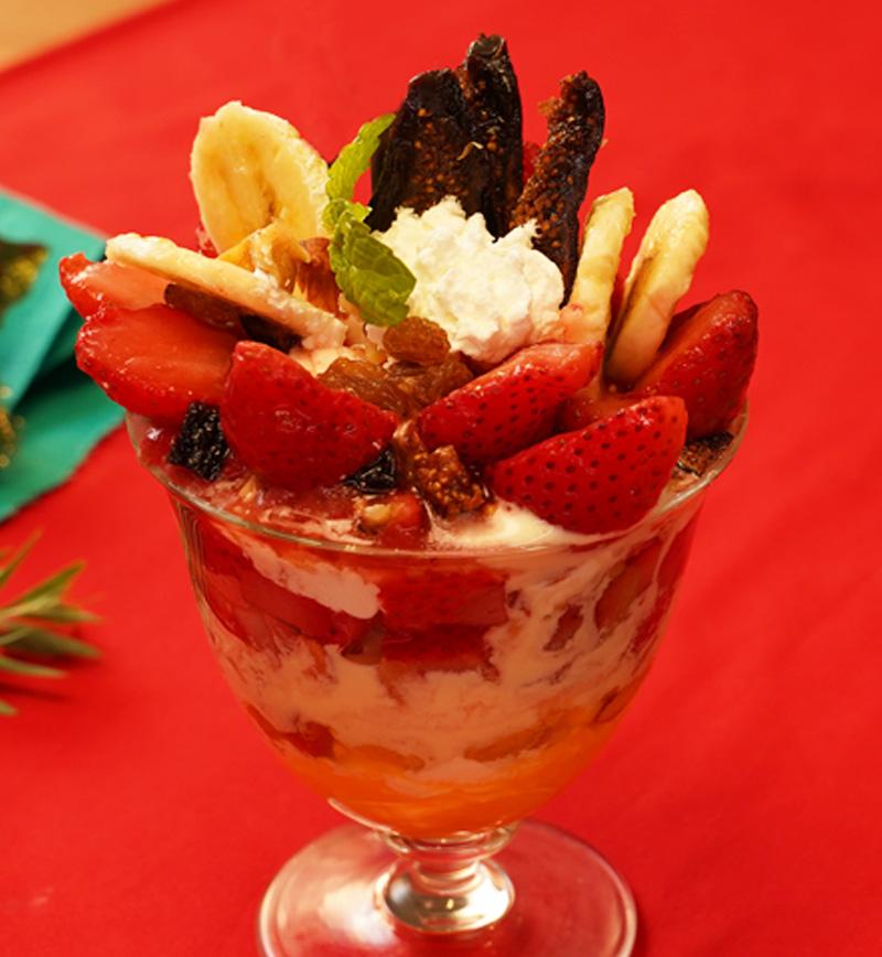 フルーツパフェ レシピ画像