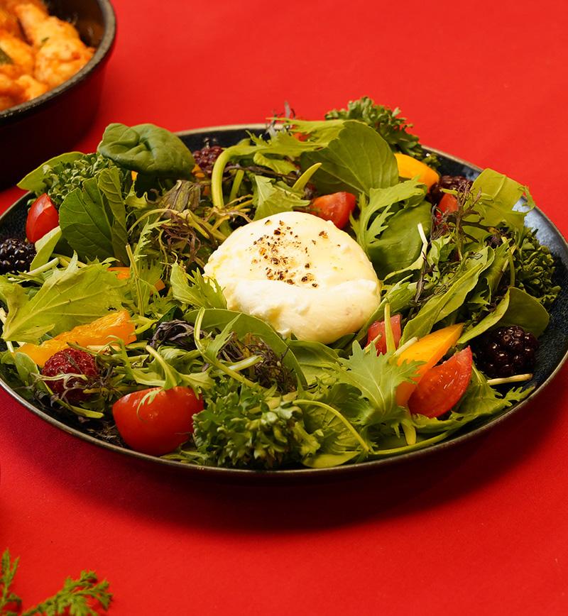 ブラータチーズサラダ レシピ画像