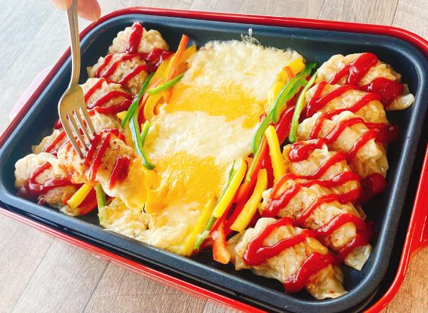 餃子チーズフォンデュ メイン画像