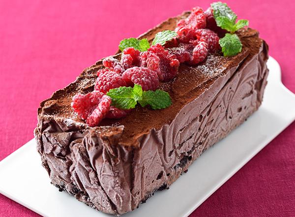 パリパリチョコアイスケーキ レシピ画像