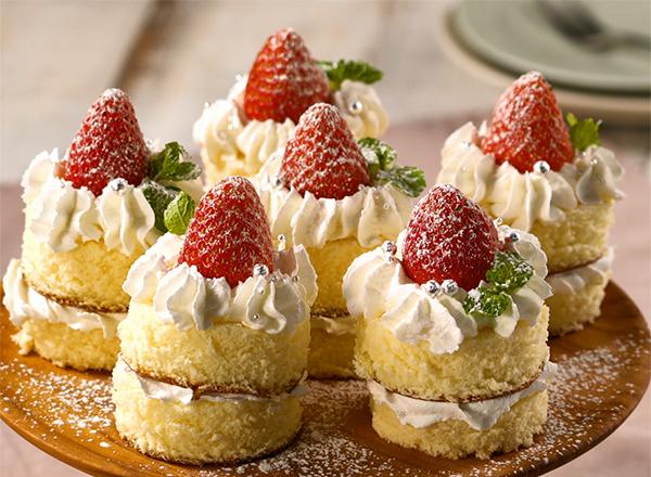 キャンドルケーキ レシピ画像
