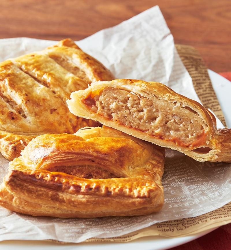 大豆ハンバーグのパイ包み レシピ画像