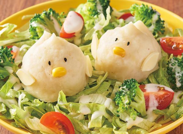 ひよこのポテトサラダ レシピ画像