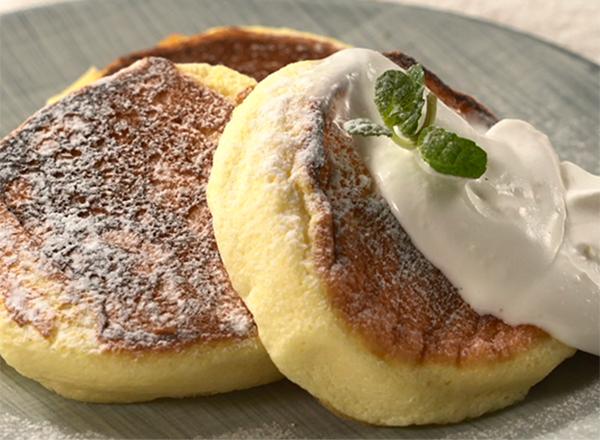 ふわふわパンケーキ レシピ画像