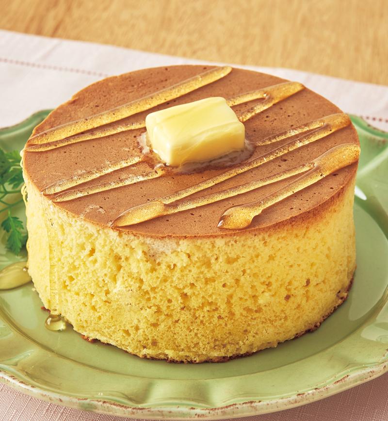 憧れのふんわりスフレパンケーキ レシピ画像