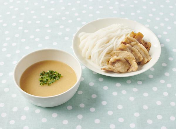 【やさしごはん】濃厚ボリューミー和風つけ麺 レシピ画像