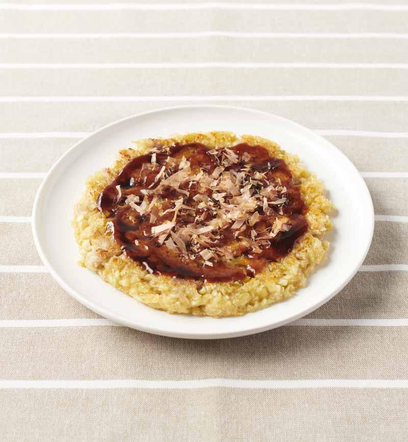 【やさしごはん】ニコニコお好み焼き レシピ画像
