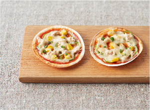 【やさしごはん】パリパリとろりんグラタンピザ レシピ画像