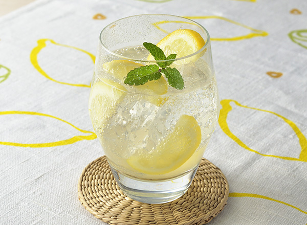 レモンミントサワー レシピ画像