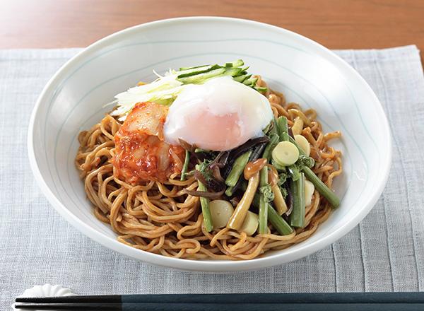ビビン麺風蕎麦 レシピ画像
