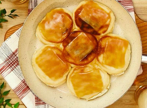 第2位 フライパンで作れる!もちもちチーズパン レシピ画像