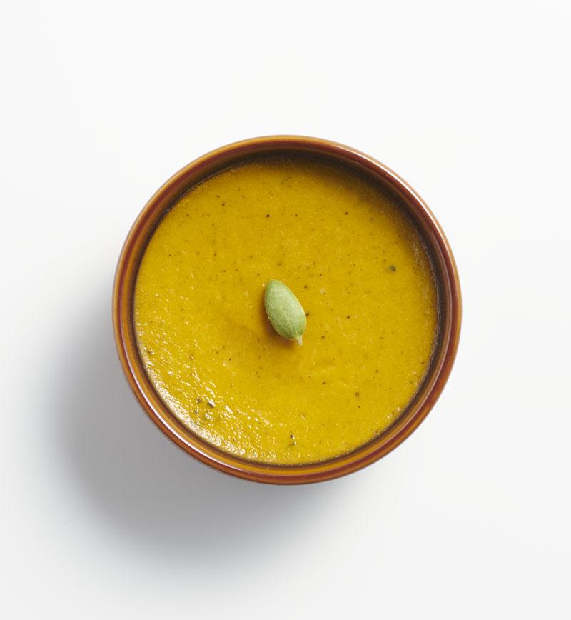 かぼちゃのプリン レシピ画像