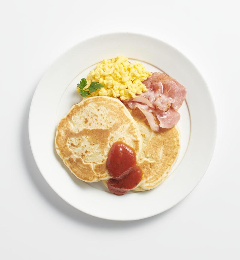 じゃがいものパンケーキ レシピ画像