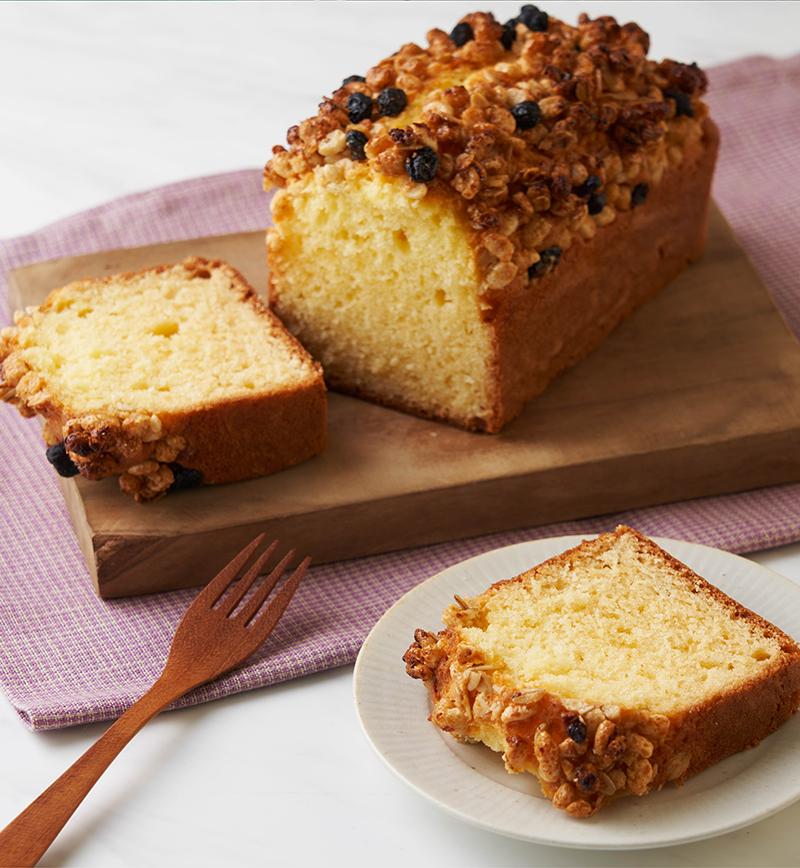 ホットケーキミックスで簡単!グラノーラケーキ レシピ画像