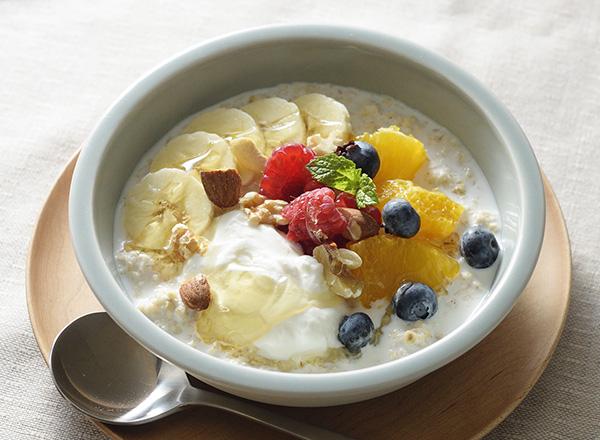 ポリッジ(オートミールのミルク粥)