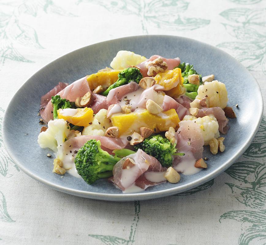 ごちそう温野菜サラダ レシピ画像