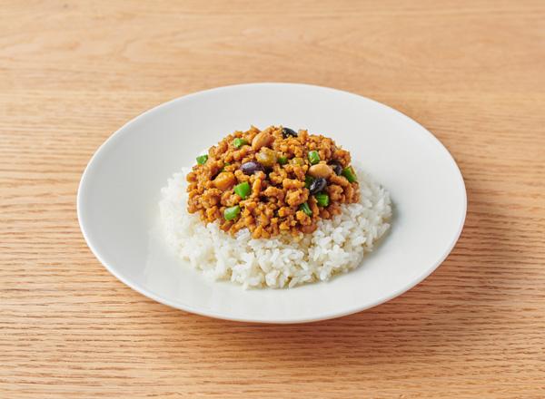豆豆キーマカレー