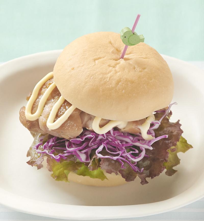 【やさしごはん】もぐもぐ照り焼きバーガー レシピ画像