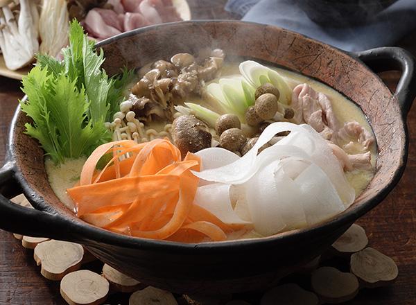 オーガニック野菜で豆乳鍋 レシピ画像