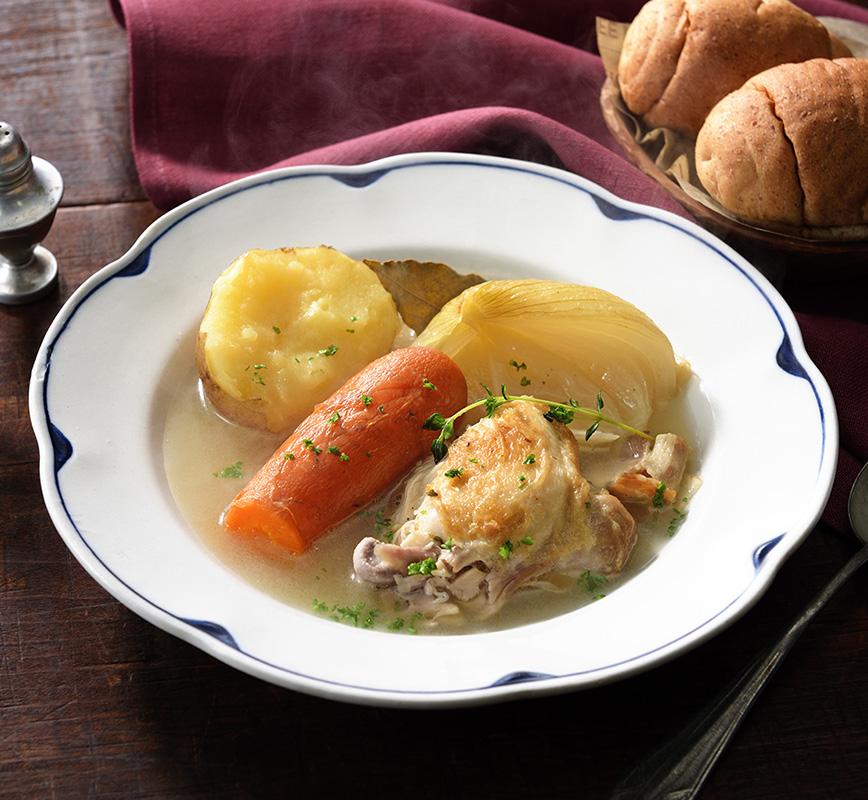 炊飯器で作るオーガニック野菜のポトフ レシピ画像