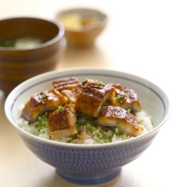 うなぎの炊き込みご飯 レシピ画像