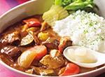 さばの味噌煮で夏の和風カレー レシピ画像
