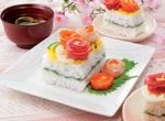 第1位 ひなまつりケーキ寿司 レシピ画像
