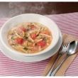 あさりとトマトのスープパスタ レシピ画像