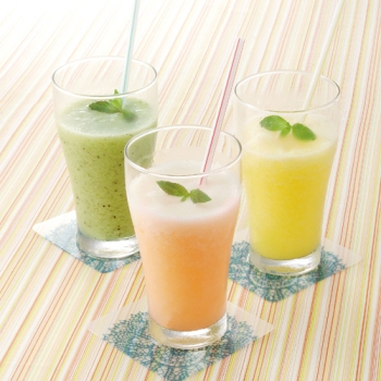 夏のトロピカルスムージー レシピ画像