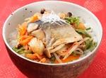 キムチと塩さばのピリ辛丼 レシピ画像