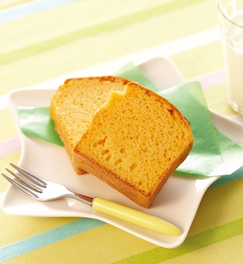 野菜ジュースのパウンドケーキ レシピ画像