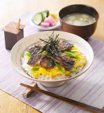 ふわふわ玉子のうな丼 レシピ画像