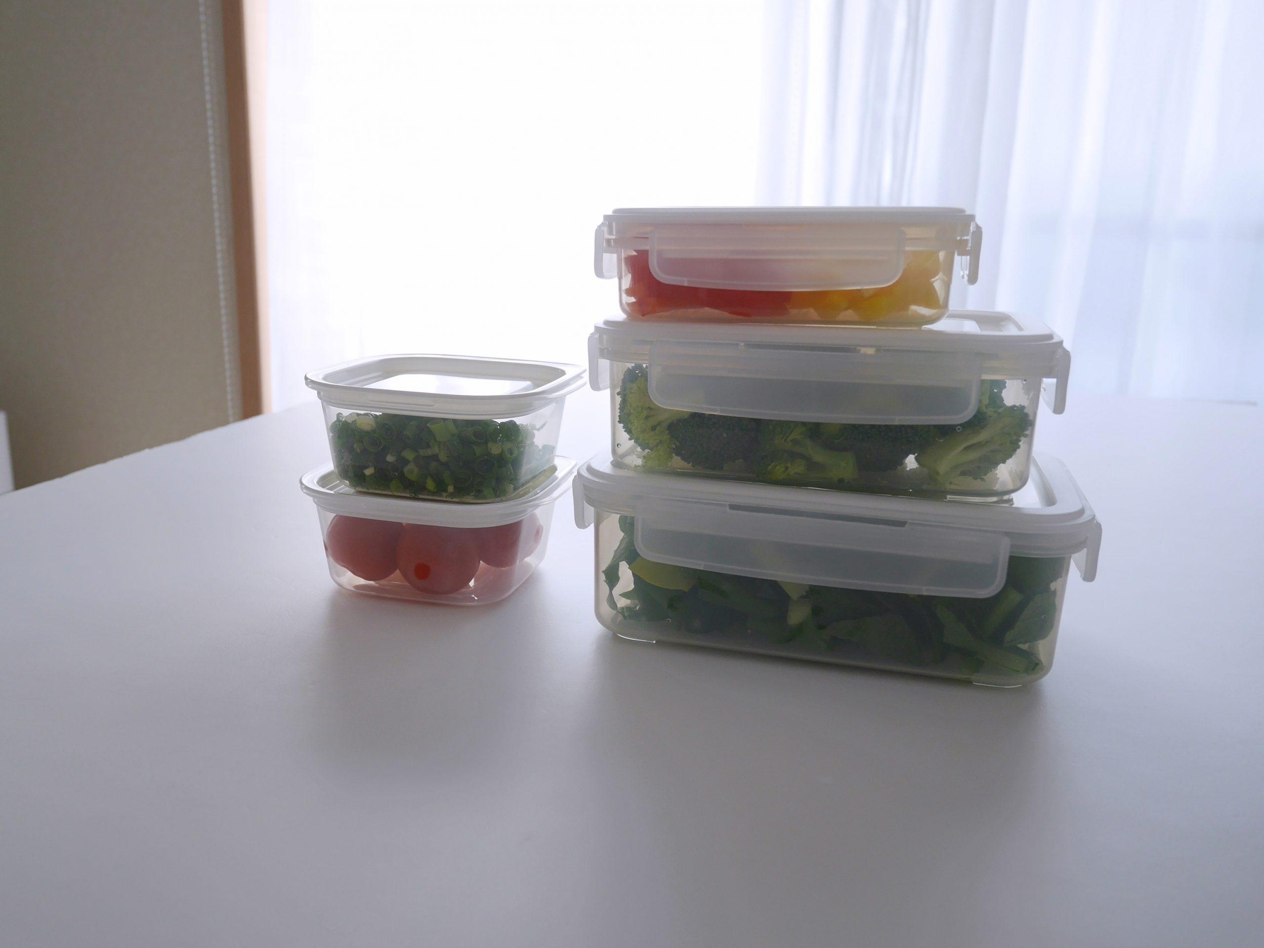 冷蔵庫の食材管理はイオンの「ホームコーディ」の保存容器にお任せ!