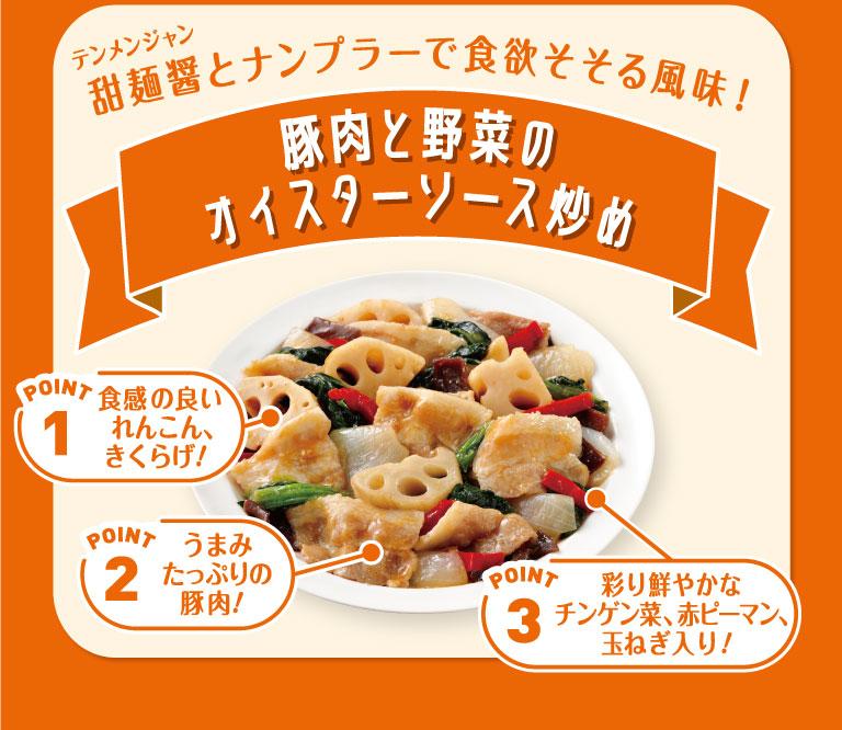 甜麺醤とナンプラーで食欲そそる風味! 豚肉と野菜のオイスターソース炒め